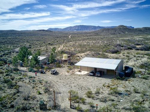 Cedar Springs Ranch : Terlingua : Brewster County : Texas