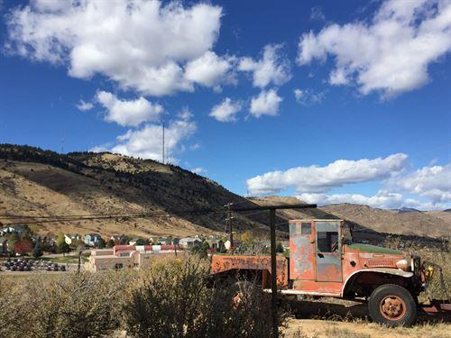 Golden Land For Sale : Golden : Jefferson County : Colorado