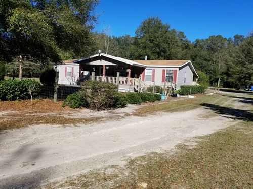 3/2 Dwmh On 4.82 Acres 773188 : Chiefland : Levy County : Florida