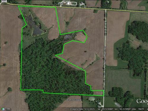 100 Acres Hwy K : Madison : Monroe County : Missouri