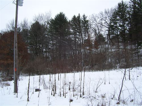 Buildable Lot By Lake Redstone : La Valle : Sauk County : Wisconsin