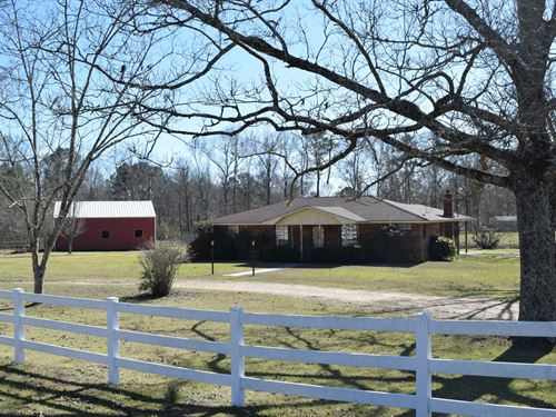 House And 5 Acres In Npsd : McComb : Pike County : Mississippi
