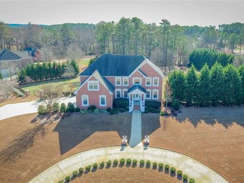 Ultimate Estate Home On 2+ Acres : Loganville : Walton County : Georgia