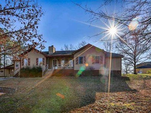 Beautiful Ranch Home On Over 2 Acre : Loganville : Walton County : Georgia