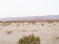 Wanna Get Away - 5 Acres With Water : Landers : San Bernardino County : California