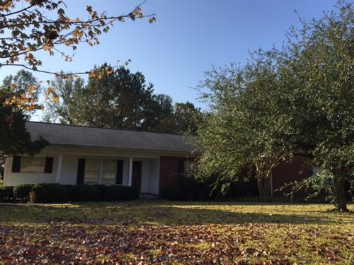 3/2 Home On 3.10 Acres : Brookhaven : Franklin County : Mississippi