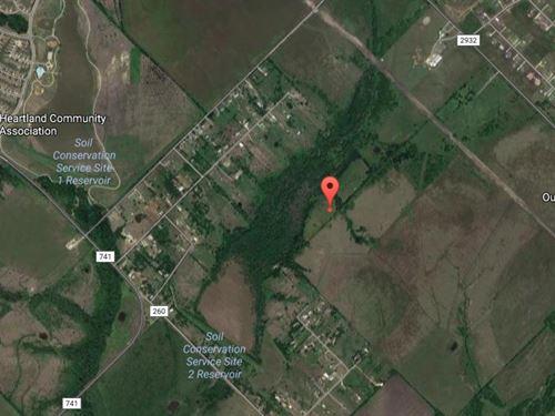 6 Ac Outside Dallas : Crandall : Kaufman County : Texas