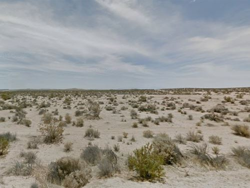 5 Acres In San Bernardino, Ca : Barstow : San Bernardino County : California