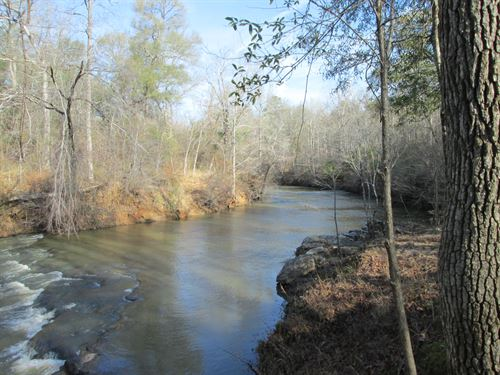 Riverfront Jewel Georgious Shoals : Forsyth : Monroe County : Georgia
