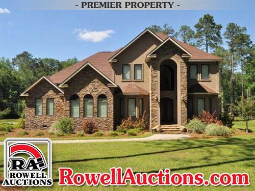 Perfect Executive Home On 6 Acres : Chula : Tift County : Georgia