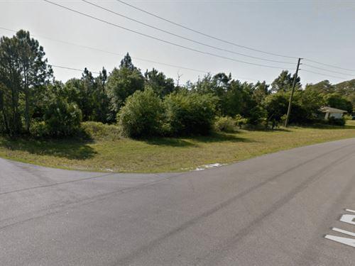 Beautiful Corner Lot In North Port : North Port : Sarasota County : Florida