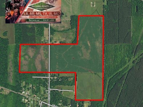 200 Ac Irrigated Farm Land - Price : Oak Grove : West Carroll Parish : Louisiana