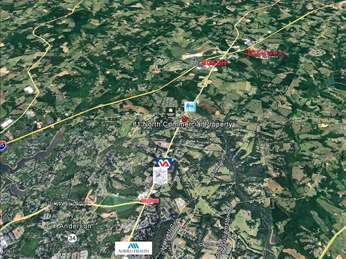 Highway 81 N Commercial Property : Anderson : South Carolina