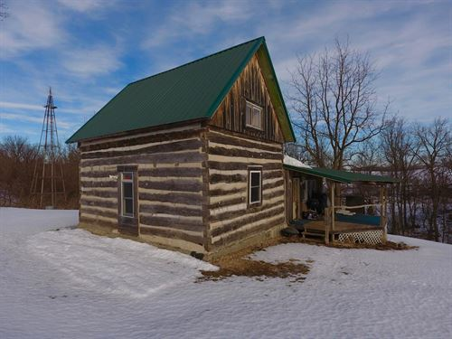 Rustic Cabin Getaway In Sw Wi : Eastman : Crawford County : Wisconsin