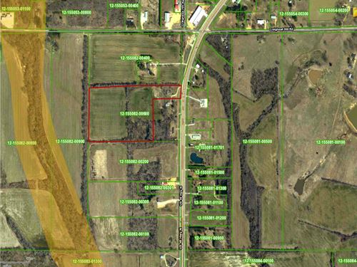 16 Acres +/- Located On Highway 49 : Brookland : Craighead County : Arkansas