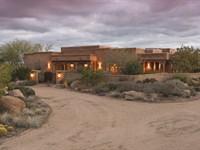Horse Prop/Estate & Executive Home : Wickenburg : Yavapai County : Arizona