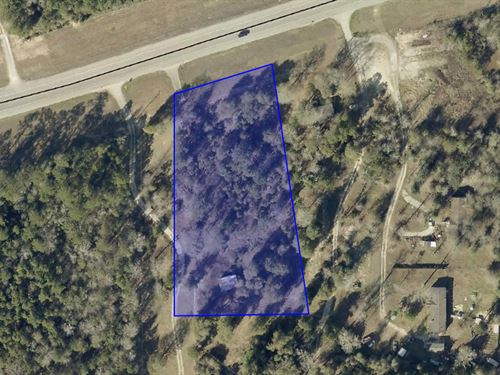 1.95 Acres Located On Hwy 105 : Cleveland : Montgomery County : Texas