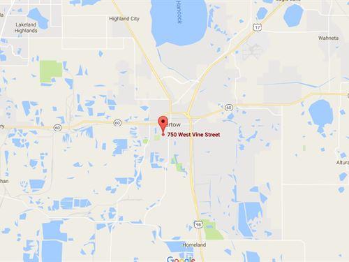 Vacant Land For Sale In Bartow, Fl : Bartow : Polk County : Florida