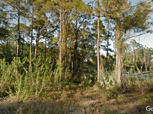 Residential Lot In Lehigh Acres, Fl : Lehigh Acres : Lee County : Florida