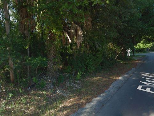 Nice Vacant Lot For Sale : Panama City : Bay County : Florida