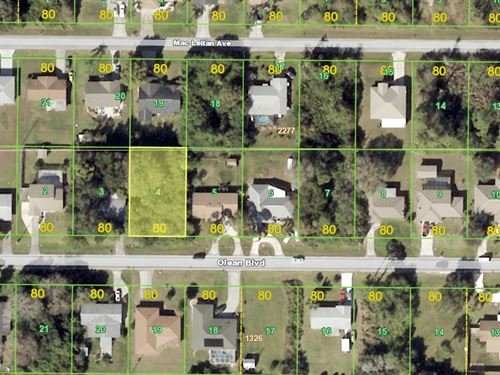 City Water Lot In Port Charlotte : Port Charlotte : Charlotte County : Florida