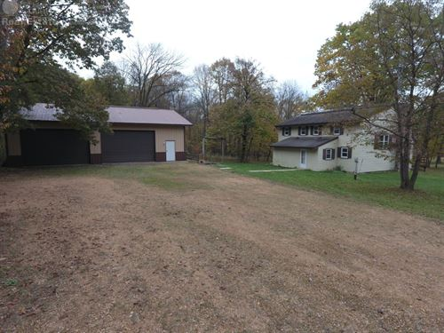 Westfield Wi Lodge And 200 Acres : Westfield : Marquette County : Wisconsin