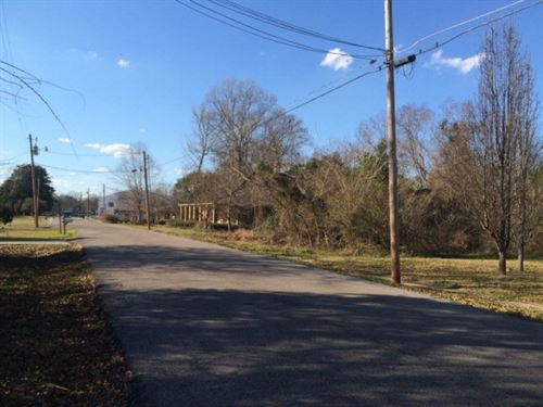 Lot In Town Tylertown Ms : Tylertown : Walthall County : Mississippi