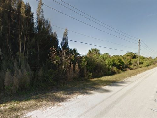Residential Land For Sale : Palm Bay : Brevard County : Florida