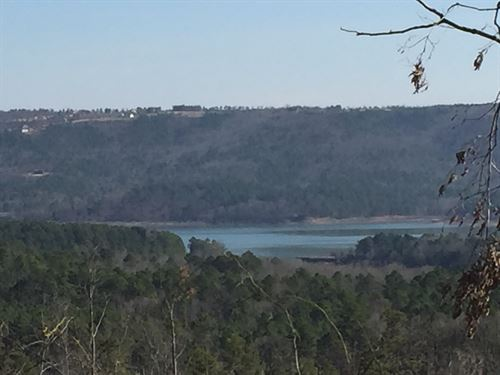 136 Acres Greers Ferry Lake Views : Clinton : Van Buren County : Arkansas