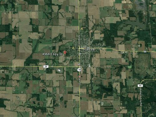 7 Acres Vacant Agricultural Land : Sesser : Franklin County : Illinois