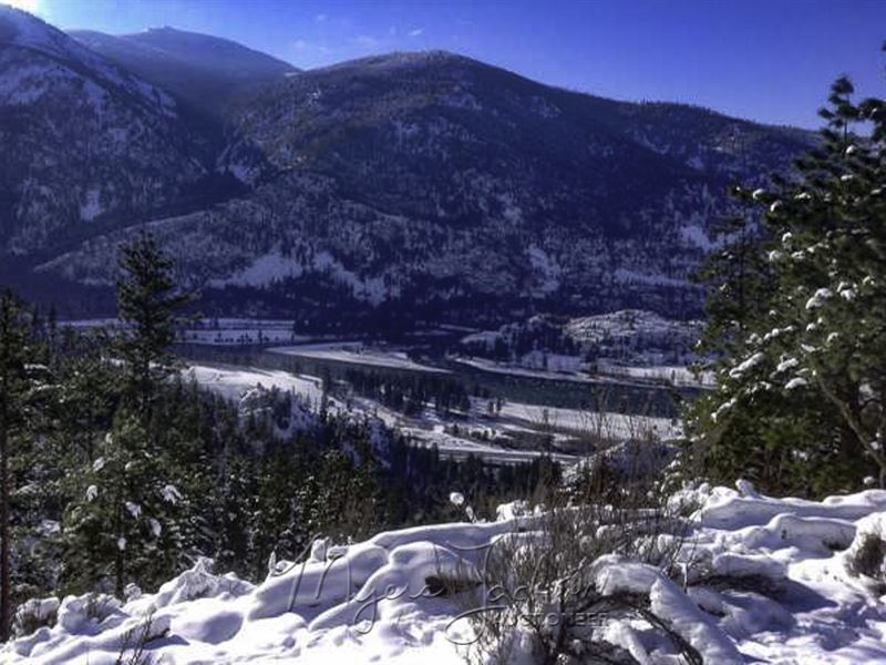 Land For Sale In Montana With Water : Paradise : Sanders County : Montana