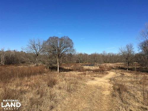 River Frontage Homesite With Ponds : Union County : South Carolina
