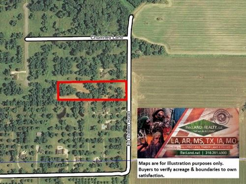 5 Ac - Pecan Orchard Home Site Lot : Swartz : Ouachita Parish : Louisiana