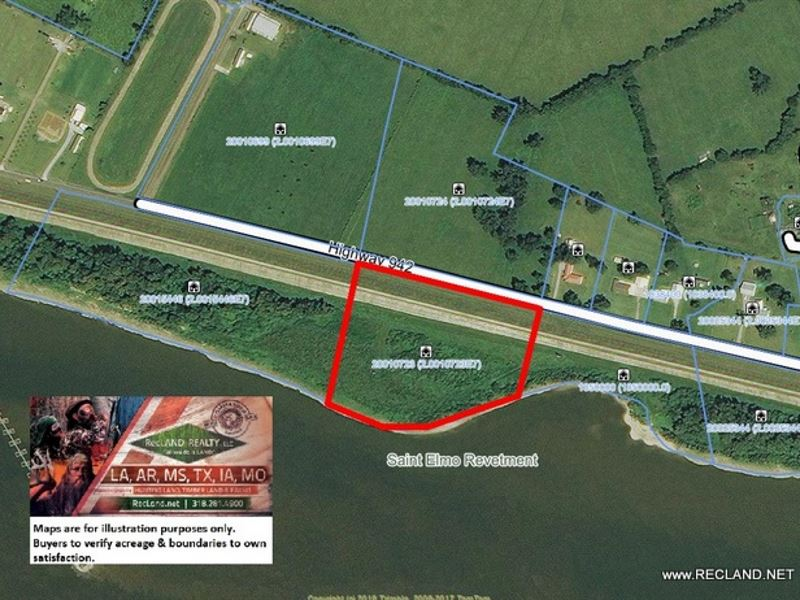 10 Ac - Cleared Lot On Ms River : Darrow : Ascension Parish : Louisiana