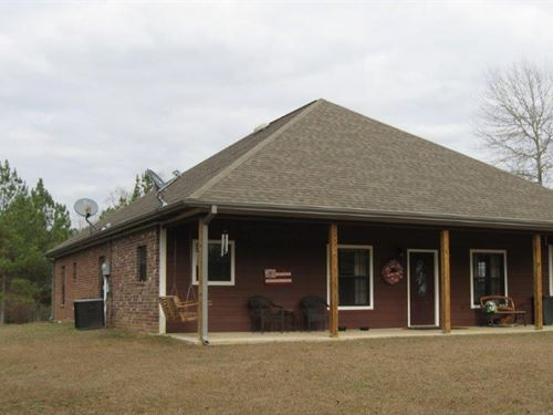 1161 Patsy Hill Road : McComb : Pike County : Mississippi