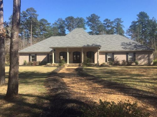 Home & 5 Acres : Summit : Pike County : Mississippi