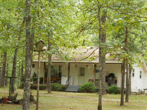 Secluded Home On 60 Acres : Mountain View : Shannon County : Missouri