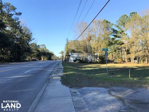 Seabrook Hwy 21 Commercial Lot : Seabrook : Beaufort County : South Carolina