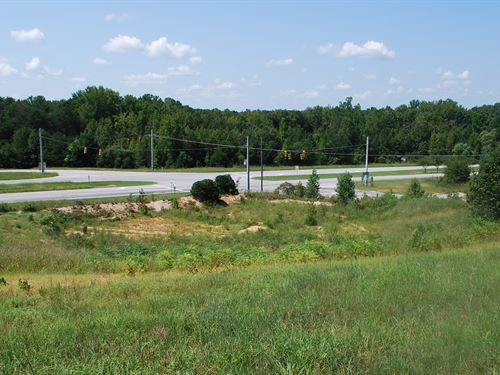 10Ac. Commercial, Signalized Corner : Pacolet : Spartanburg County : South Carolina