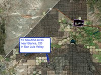 10.15 Acres In Blanca, CO : Blanca : Costilla County : Colorado