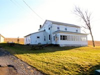 51+/- Acre Farm, Home, Outbuildings : Bloomsburg : Columbia County : Pennsylvania