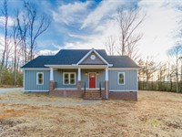 New Home On Large 22.08 Acre Lot : Goochland : Goochland County : Virginia