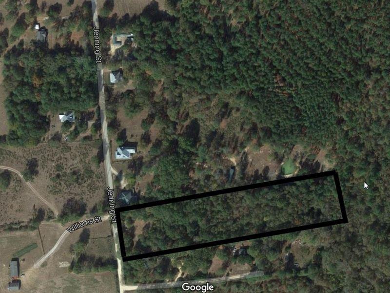 Great Lot For Residential/Agri Use : Crawfordville : Taliaferro County : Georgia