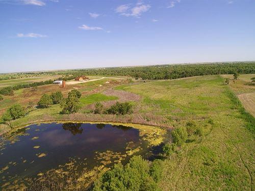 240 Acres Near Webster Lake : Damar : Rooks County : Kansas