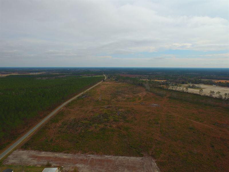 150 Acres Cleared Land : Manor : Ware County : Georgia