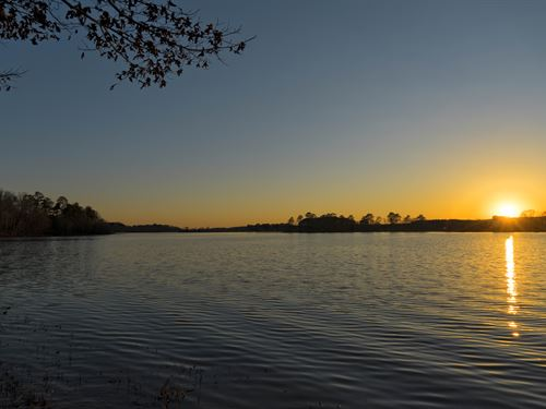 Lay Lake Lakefront Land Sale : Sylacauga : Talladega County : Alabama