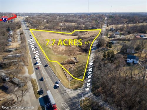 No Reserve Online Land Auction : Kansas City : Jackson County : Missouri