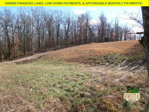 11 Acre Build Site With Electric : Pomona : Howell County : Missouri