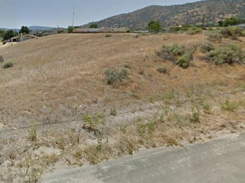 Buildable Tehachapi View Lot : Tehachapi : Kern County : California