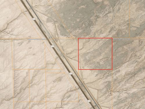 36.87 Acres Just Off Ca-111 In Cali : Calipatria : Imperial County : California
